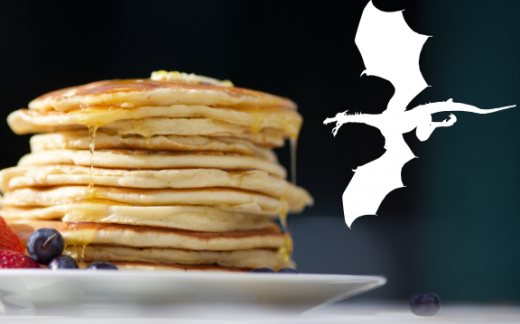 The Legend of Dragons Pancake Breakfast