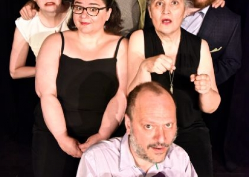 Monkey Toast improv cast